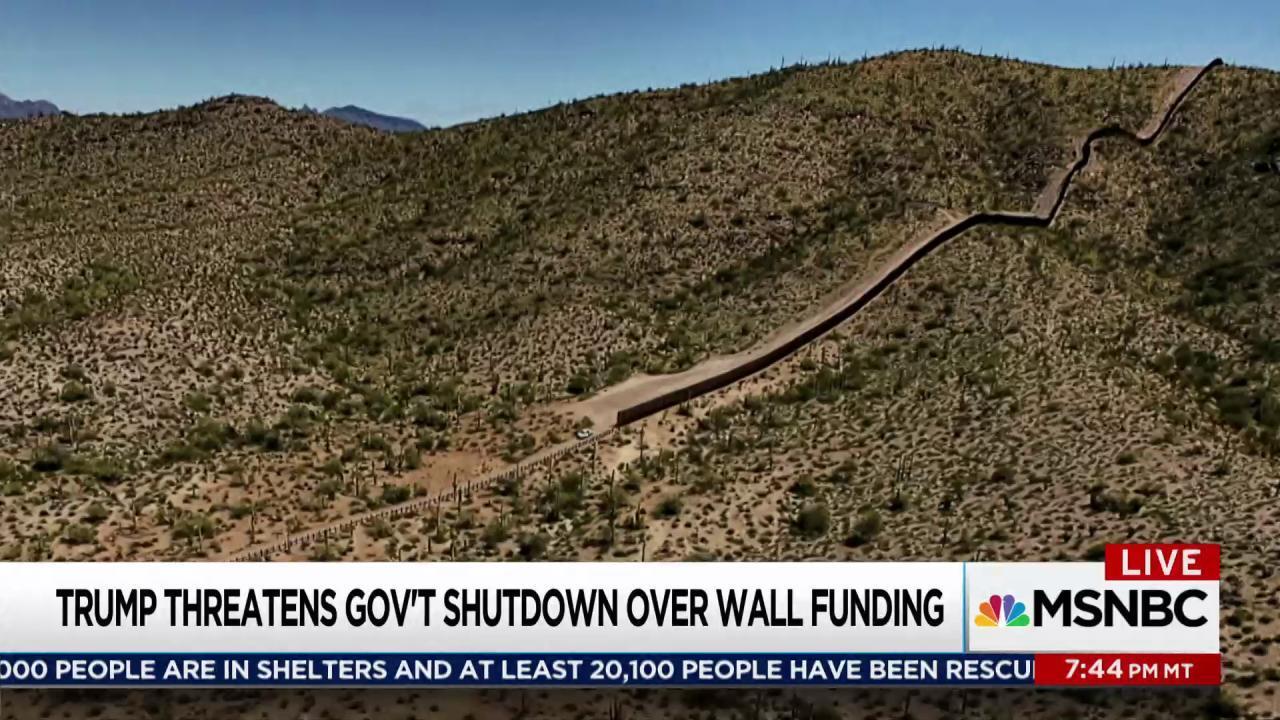 Trump kicks border wall funding to December