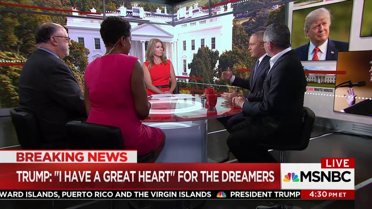 Ford: Trump's DACA move hurts a group of...