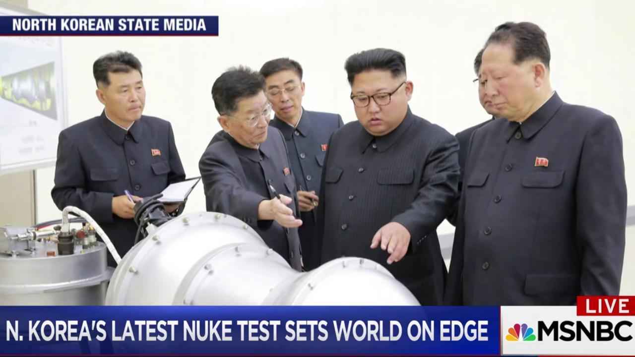 """Nikki Haley: North Korea is """"begging for war"""""""