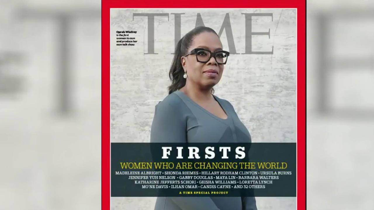 Time highlights women who broke barriers