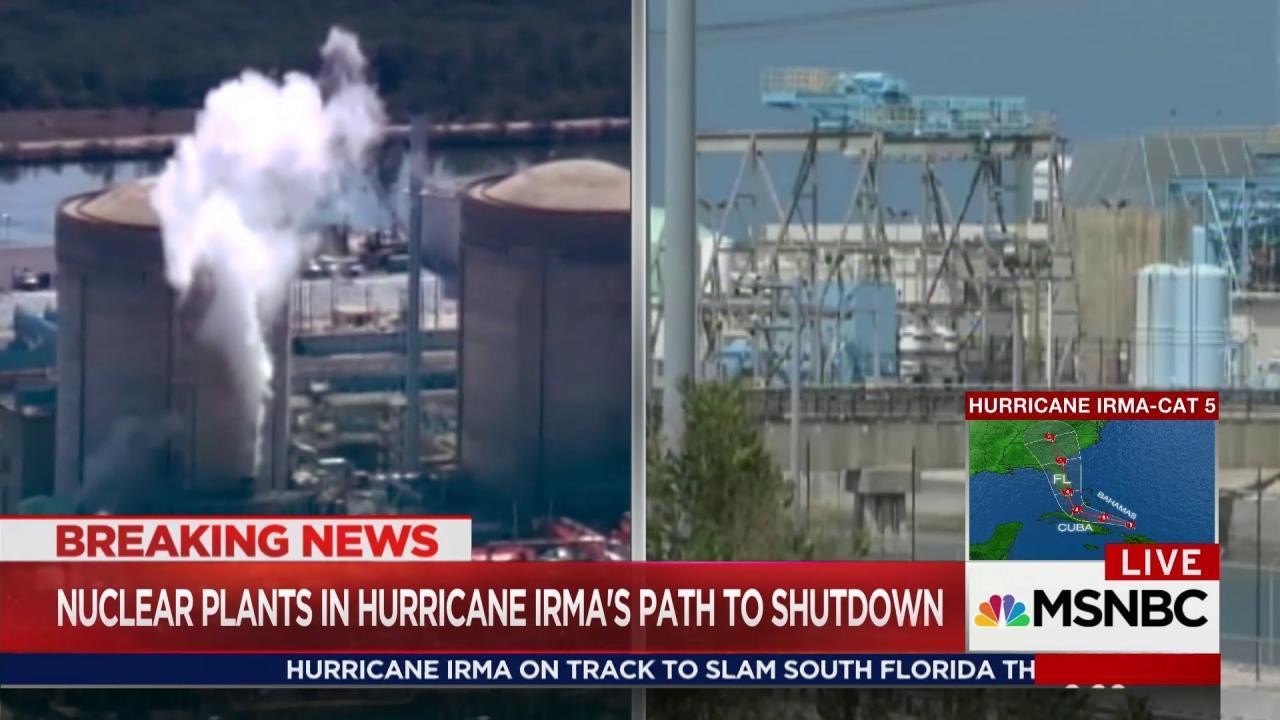 FL nuclear plants to shut down before Irma