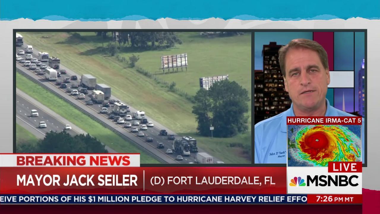 Exodus of evacuees as Florida faces Irma