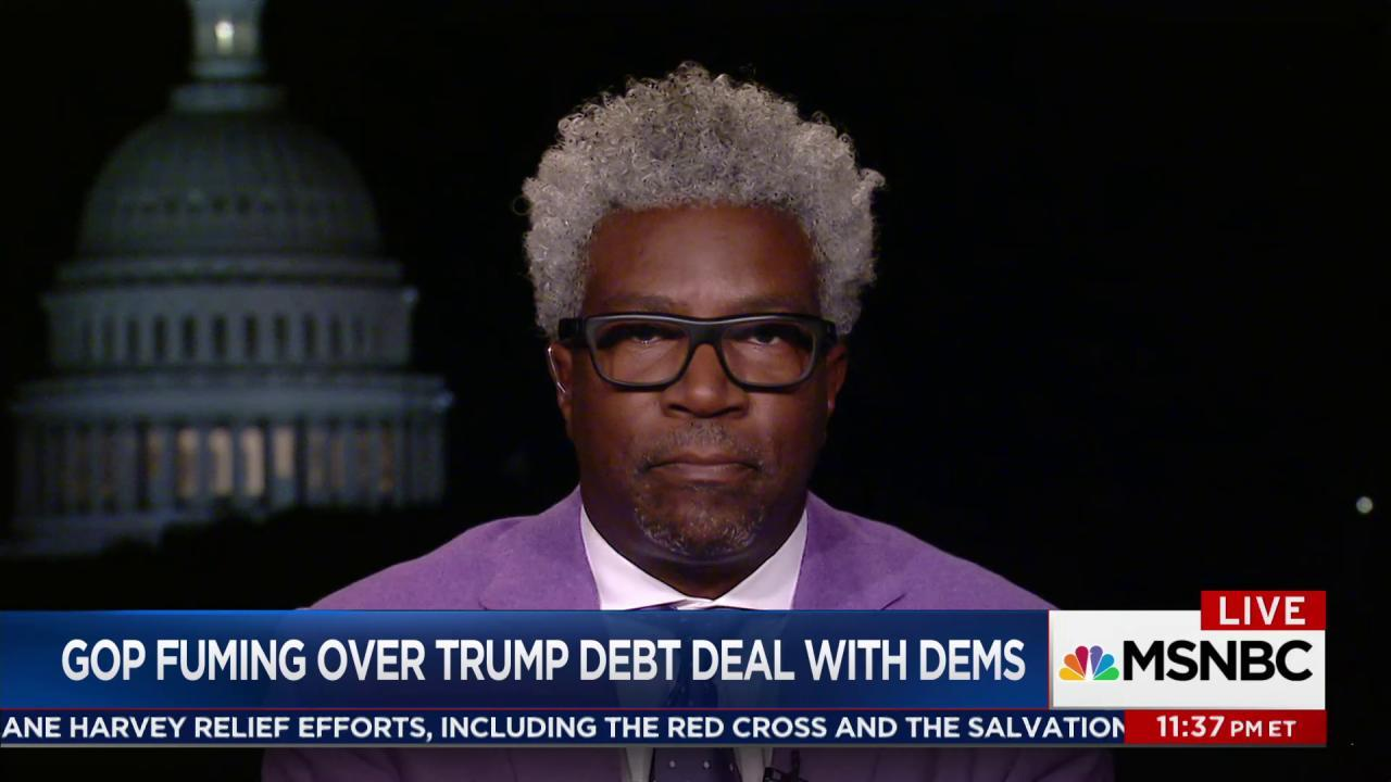 Belcher: Trump's deal with Dems unlike...