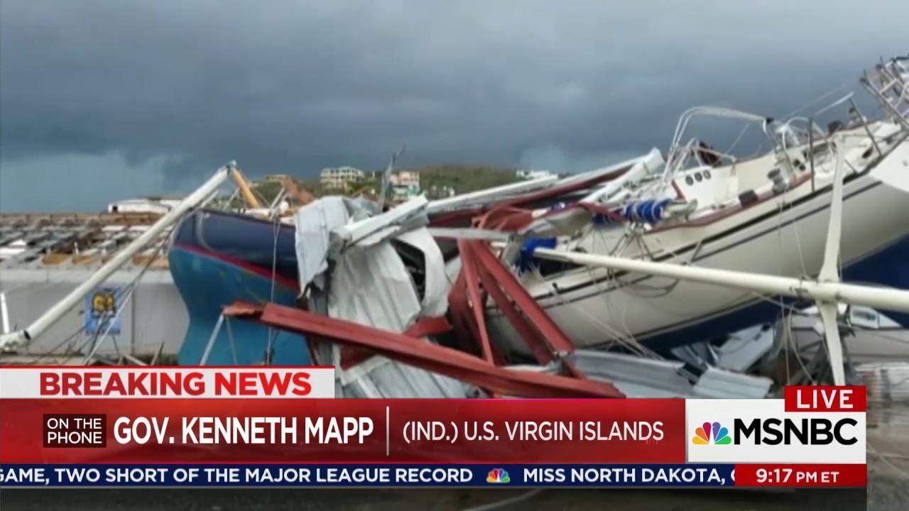 Devastation across Caribbean in Irma's wake