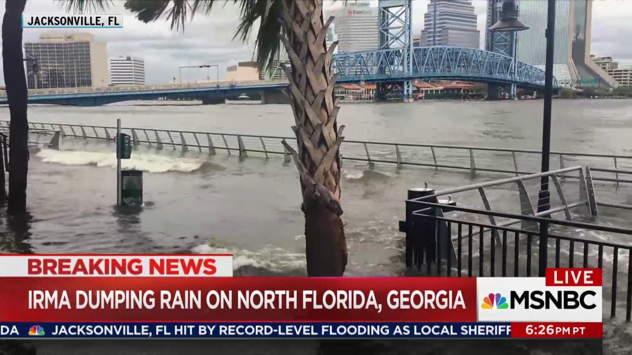 Scope of Irma damage seen across Florida