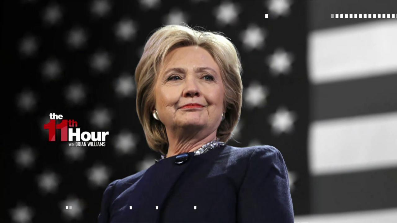 Hillary Clinton: I'm 'convinced' Trump...