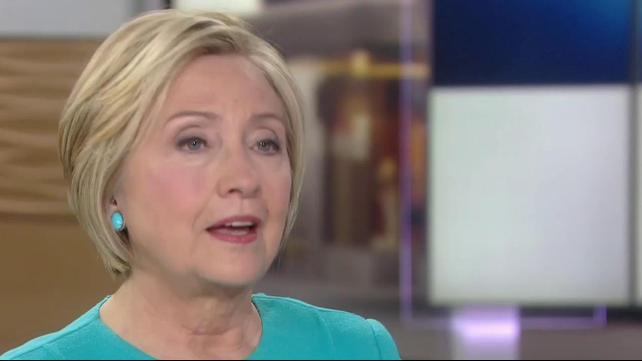 Clinton blames Sanders, Comey for election...