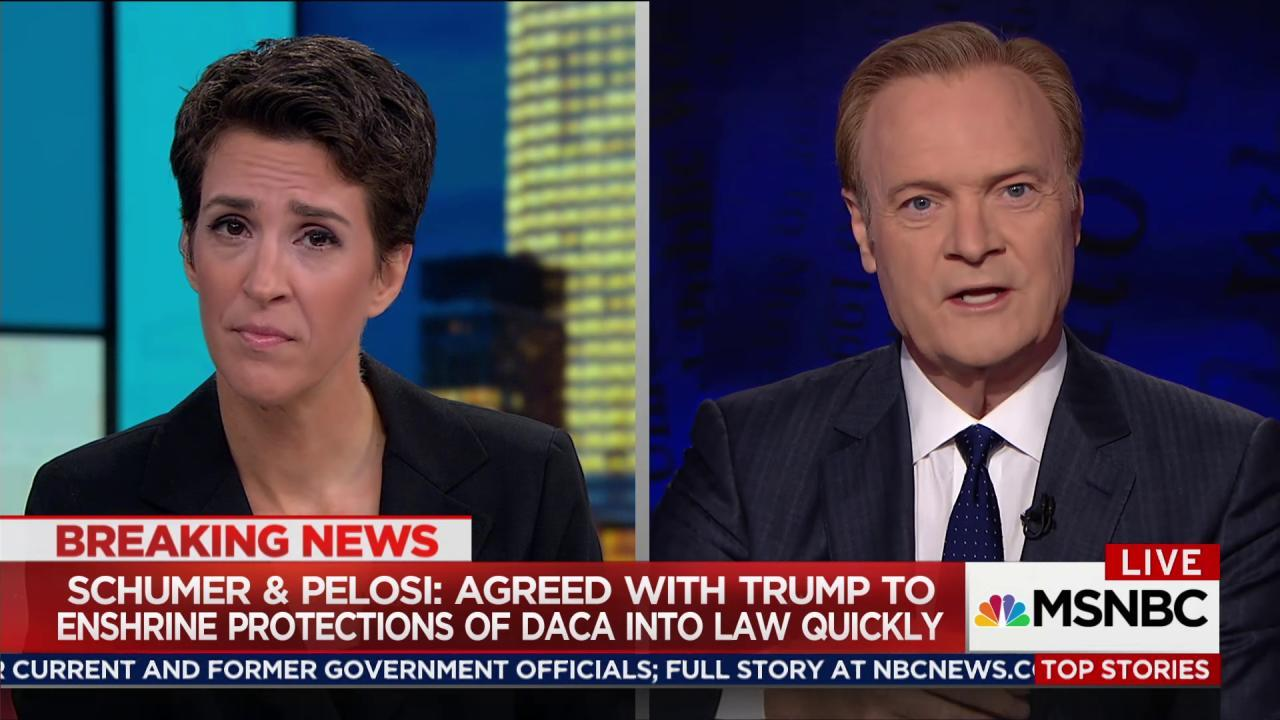 Schumer, Pelosi: Trump agreed to help...