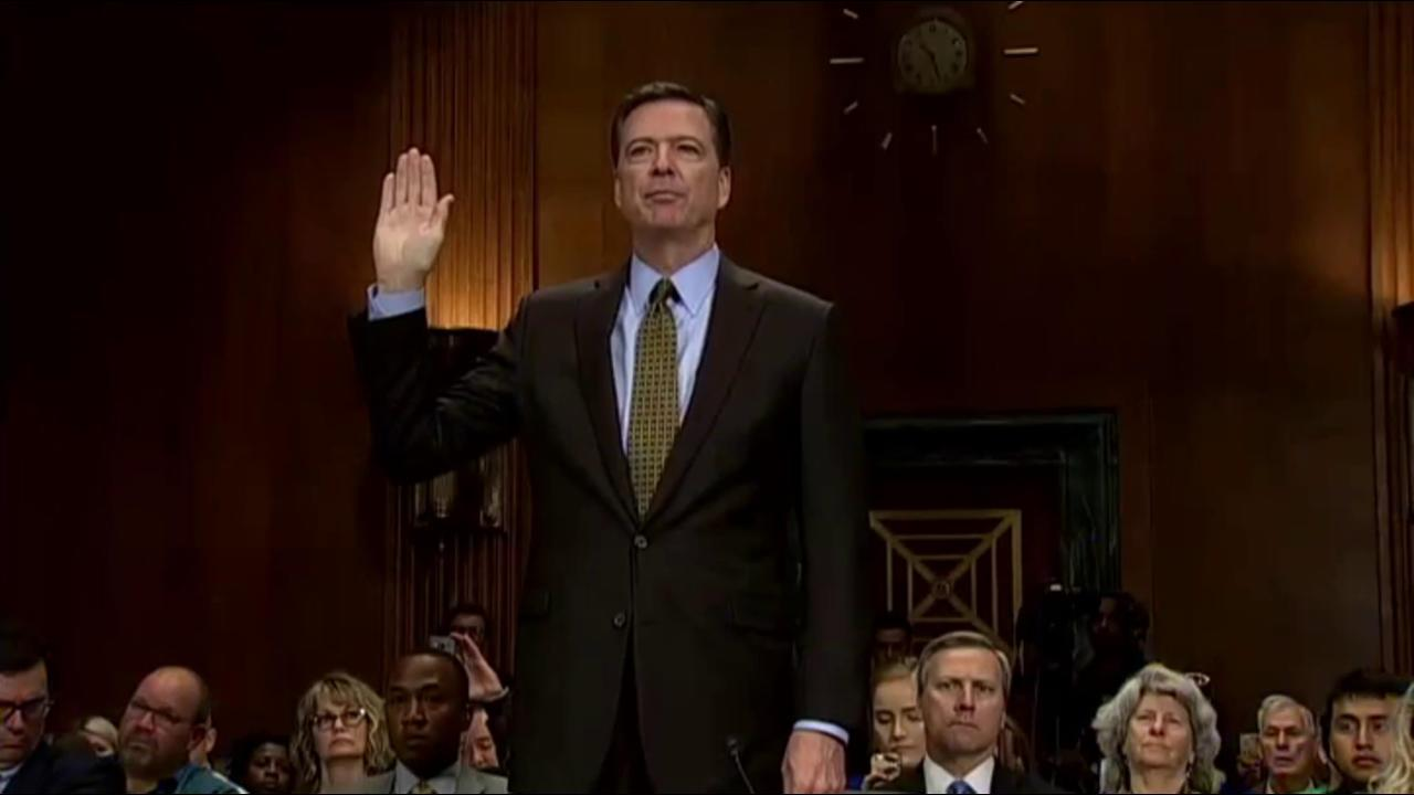 White House again accuses James Comey of...