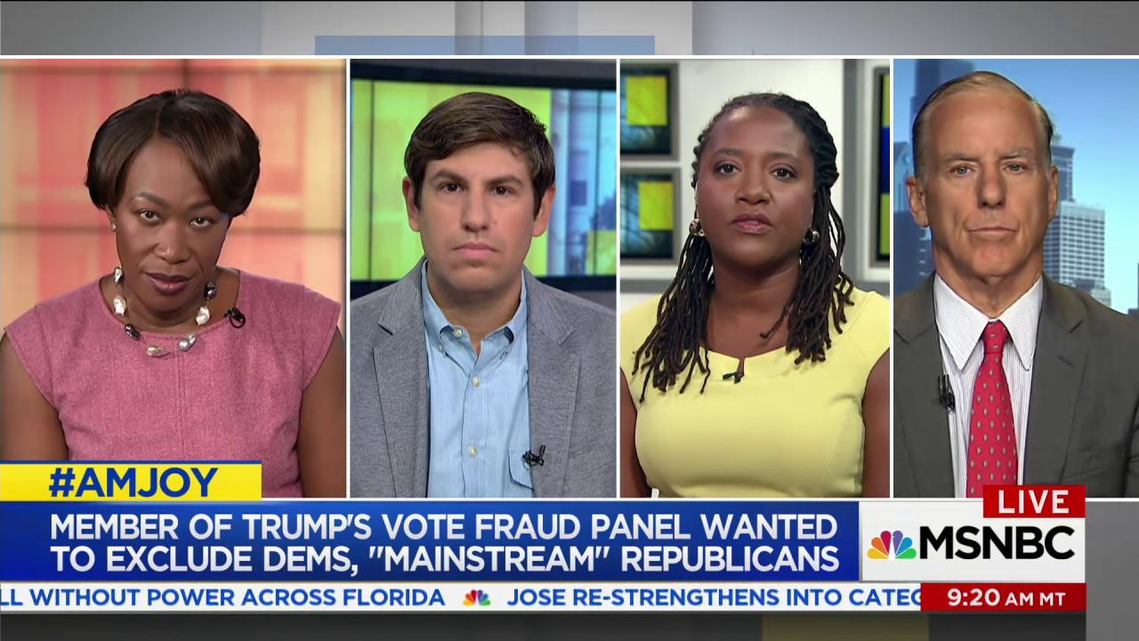 'It was all about lying about voter fraud'