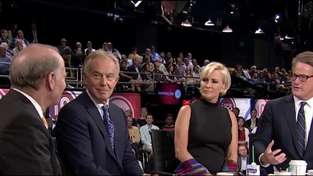 Tony Blair: Like in US, British politics...