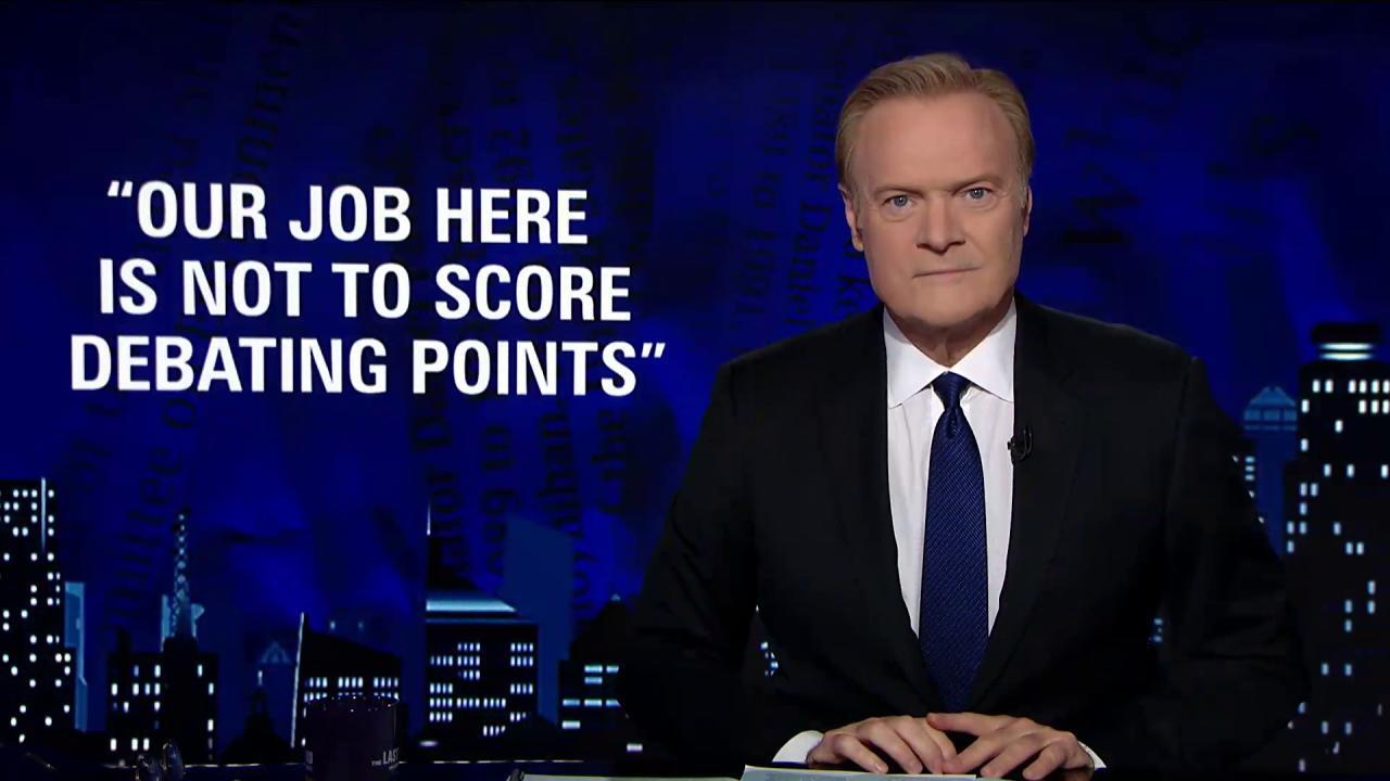 Lawrence: Why Trump's UN speech worst,...