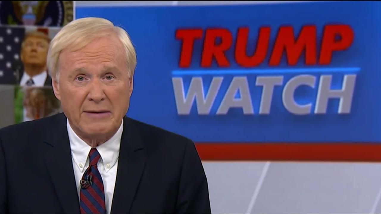 Matthews: Trump has no moral authority