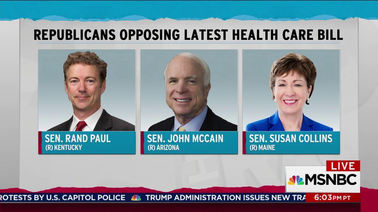 Trump, GOP failing again on ACA repeal
