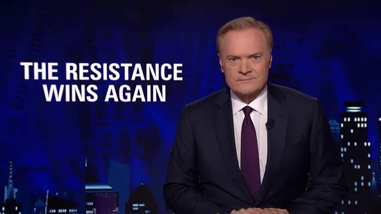 Lawrence: The Resistance wins again