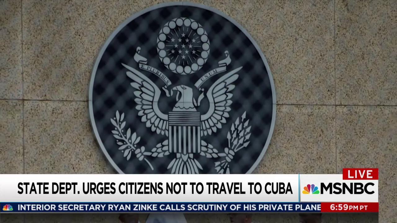 Mystery attacks drive US from Cuba embassy