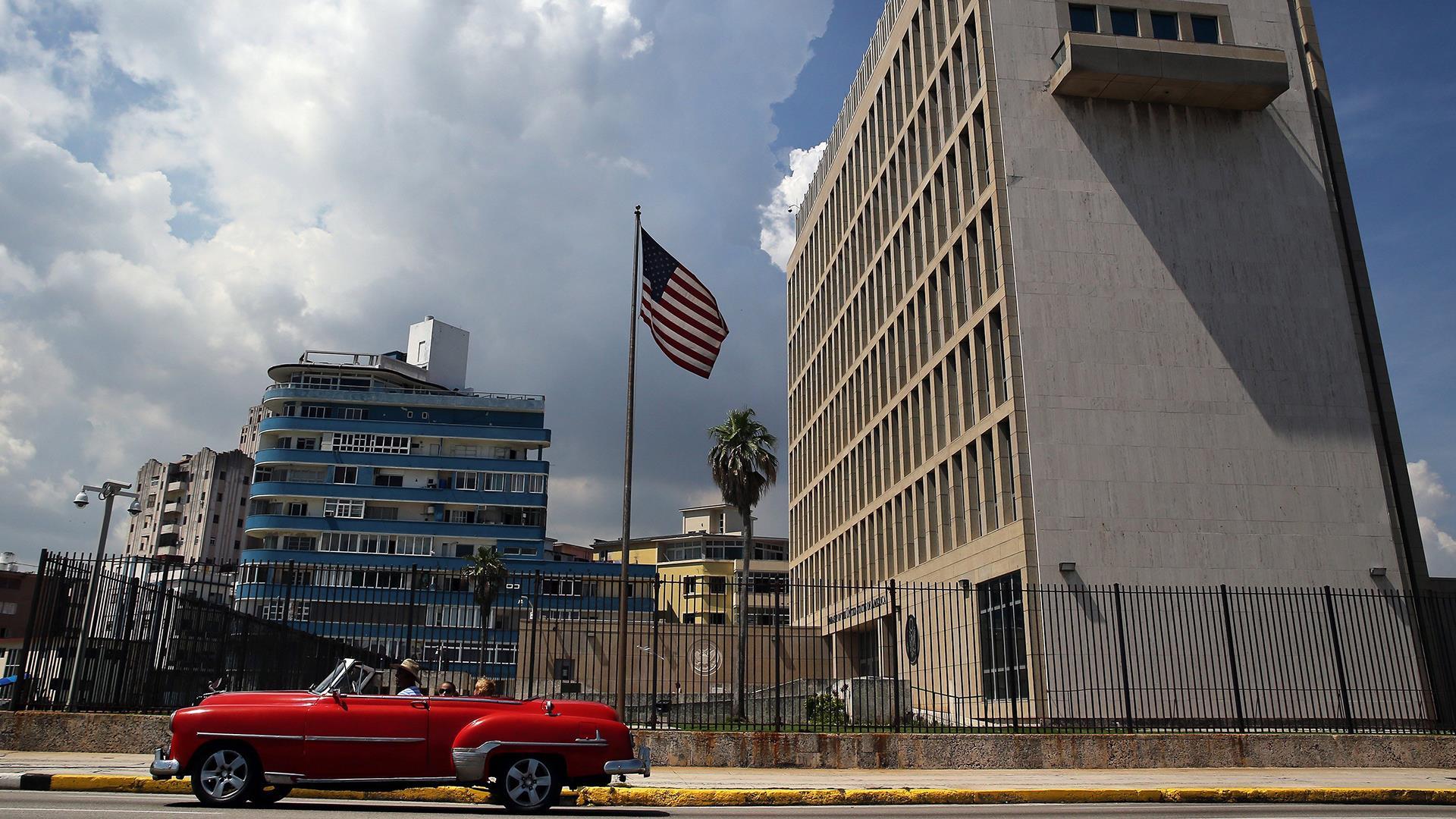 U.S. Cutting Embassy Staff in Cuba in Wake...