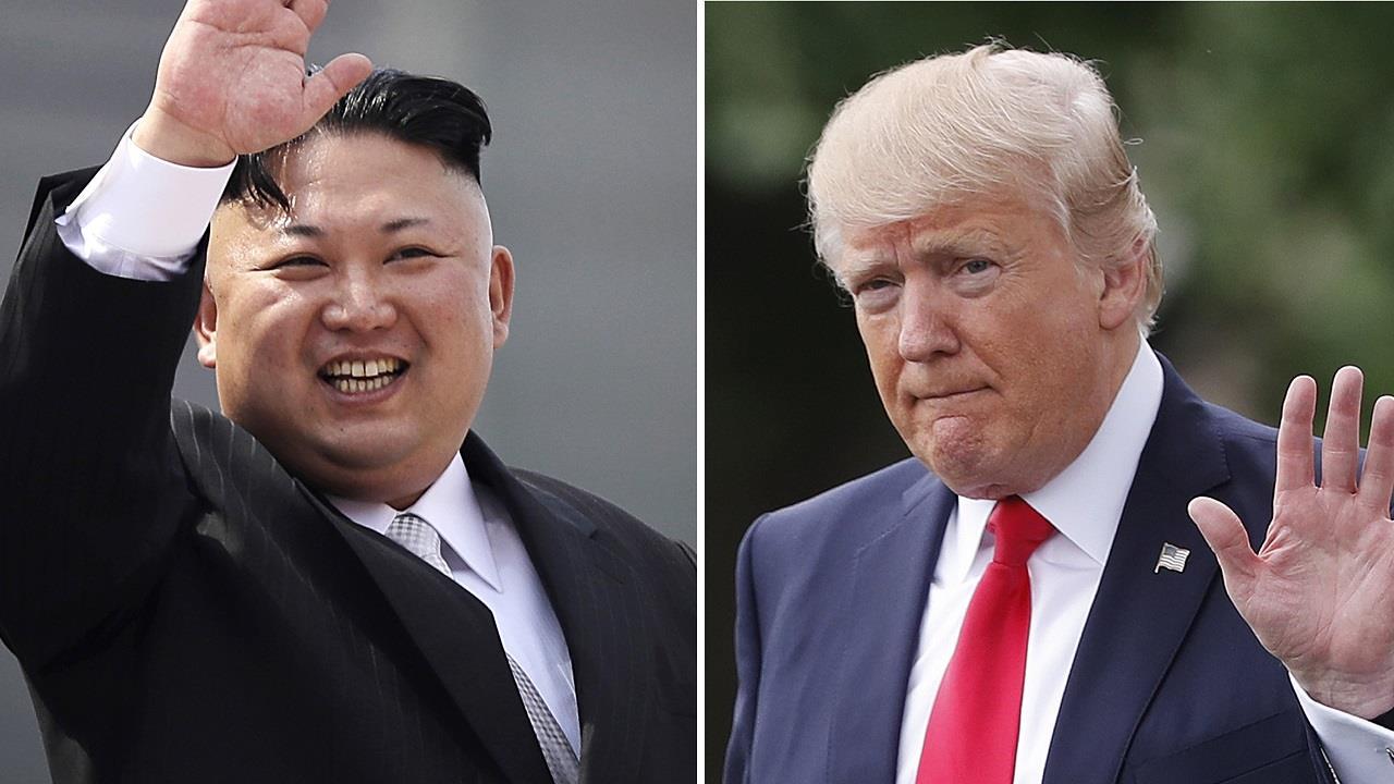 Rep. Swalwell: Trump behaving like Kim...