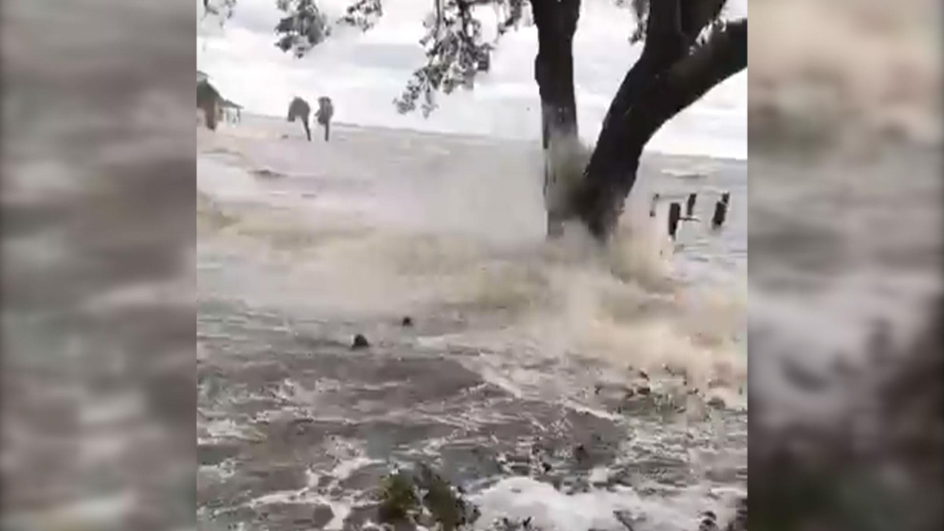 Hurricane Irma Floods Jacksonville Florida At Record