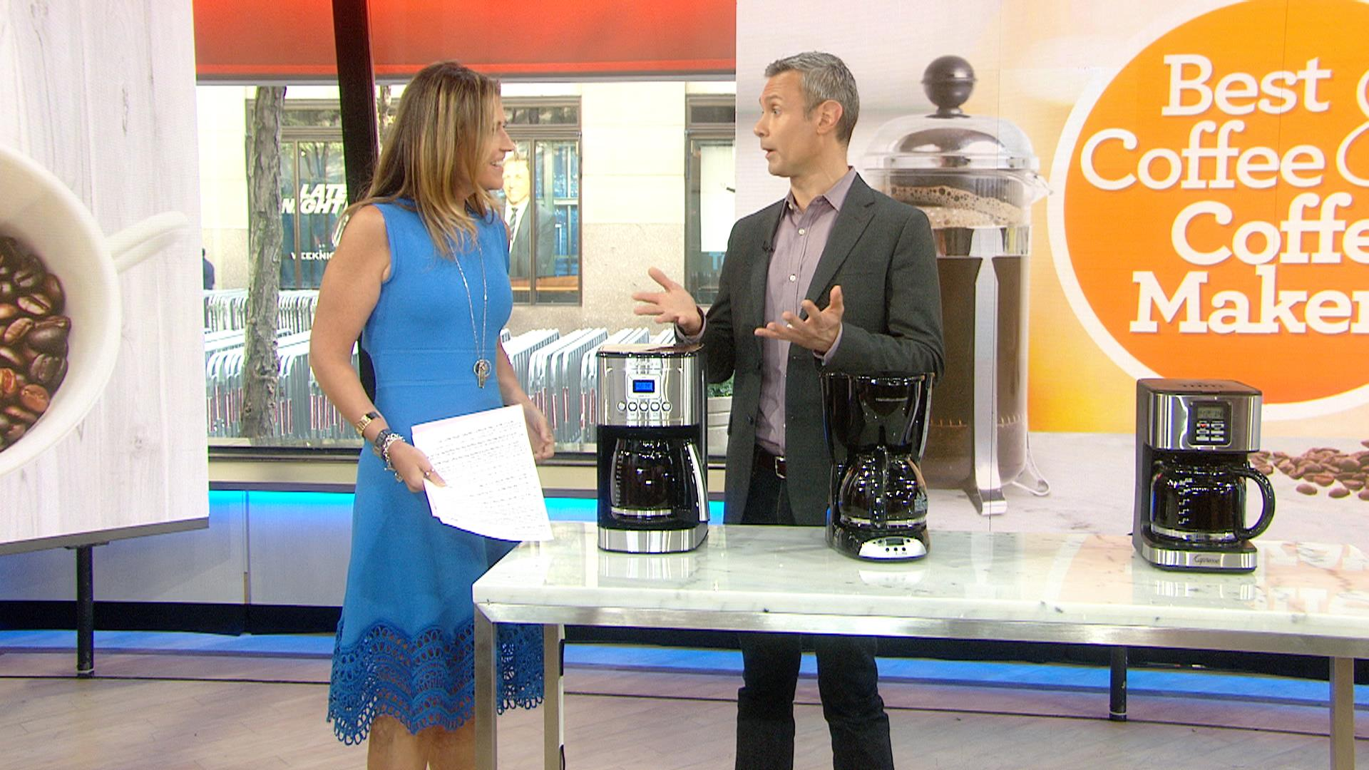 Consumer Reports Says The Top Rated Coffee Maker Is Nbc