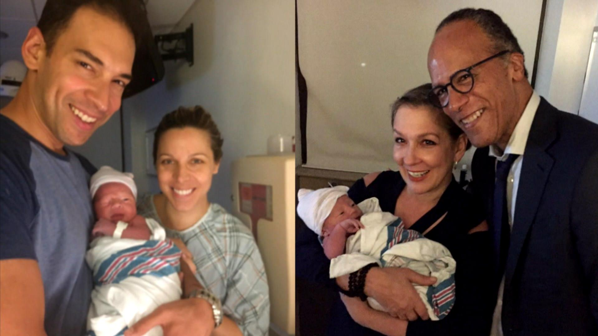 Lester Holt Has Just Become A Grandfather