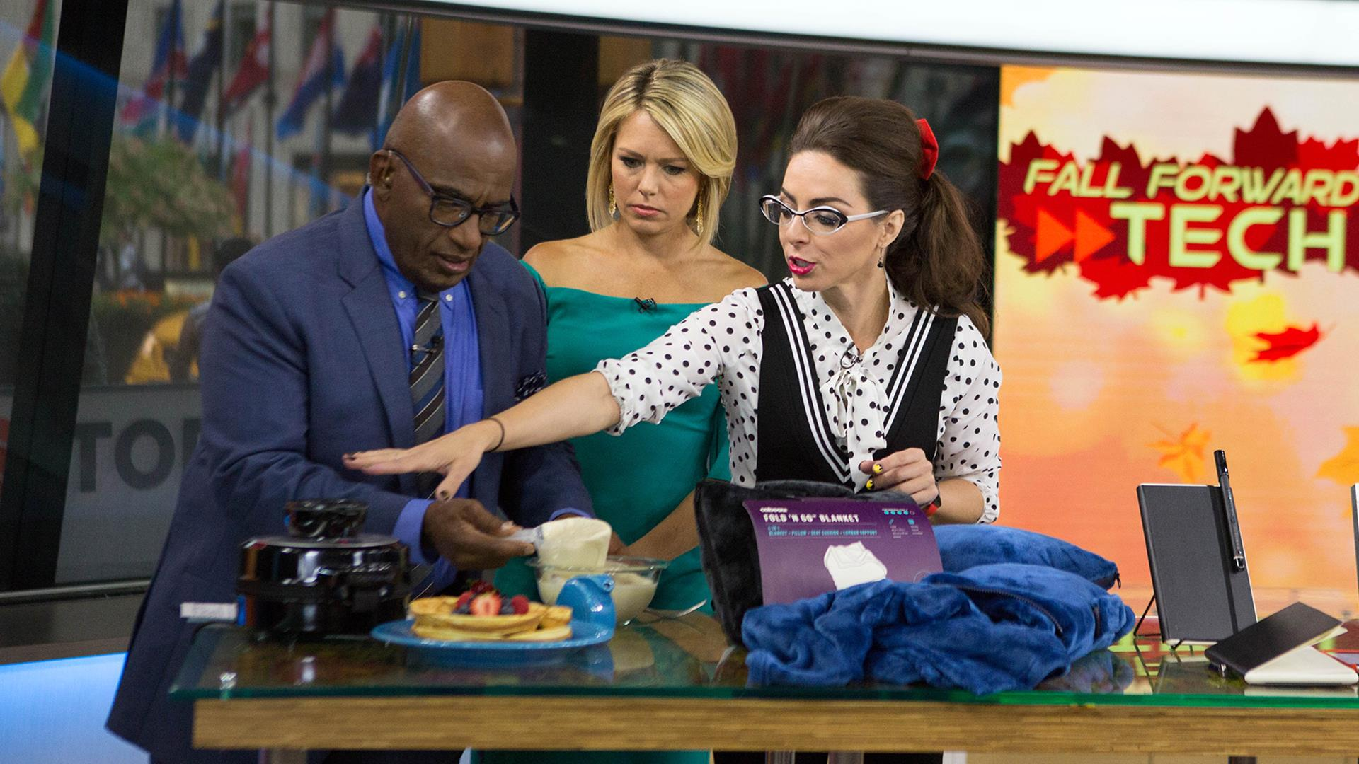 Volcano waffle maker, Star Wars media chair: Great gadgets for fall - NBC News