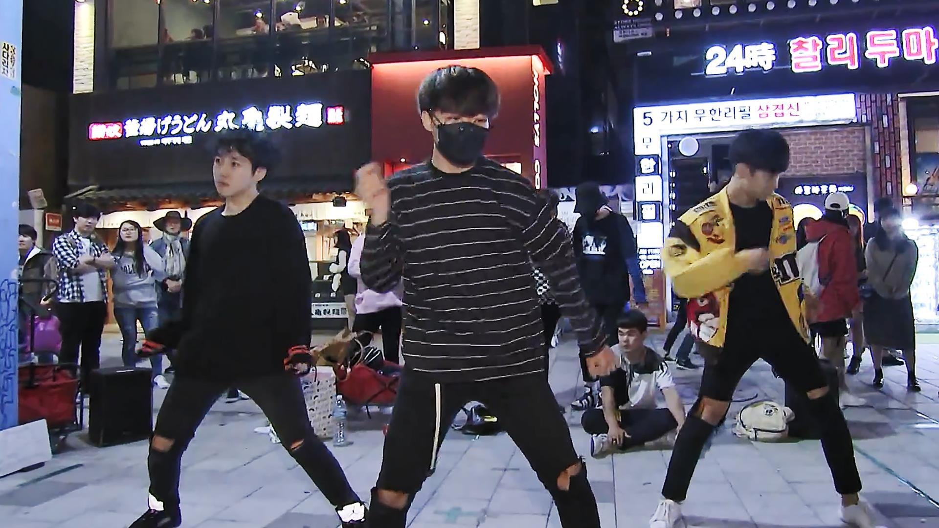 Seouls k pop dancers party on despite north korean threat k pop wannabes strut the streets of seoul baditri Images