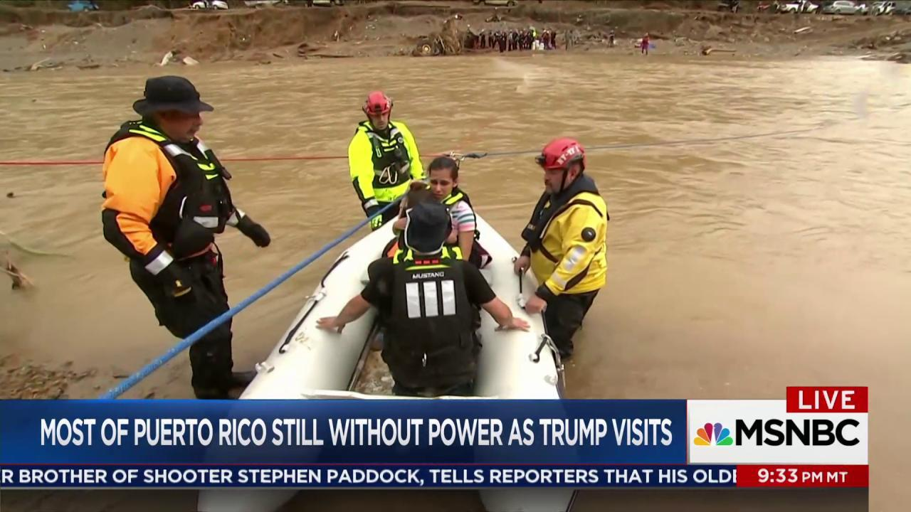 Dire straits across much of Puerto Rico as...