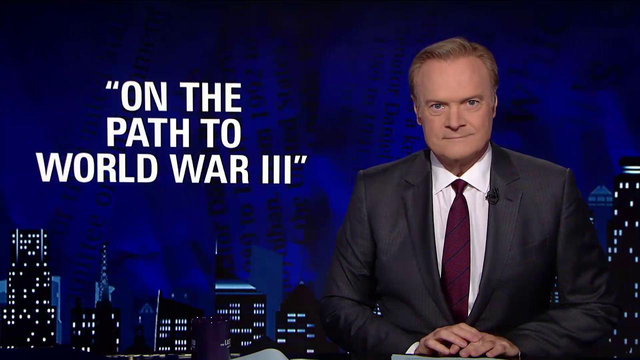Lawrence: Bob Corker has beaten Trump into...