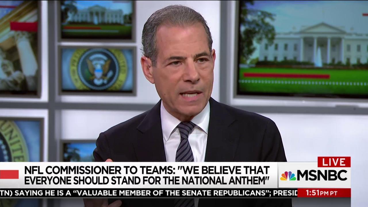 Is President Trump winning the NFL debate?