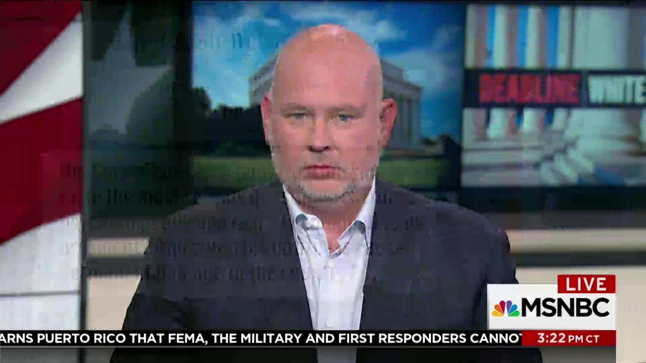 Steve Schmidt: Trump is incapacitated at...