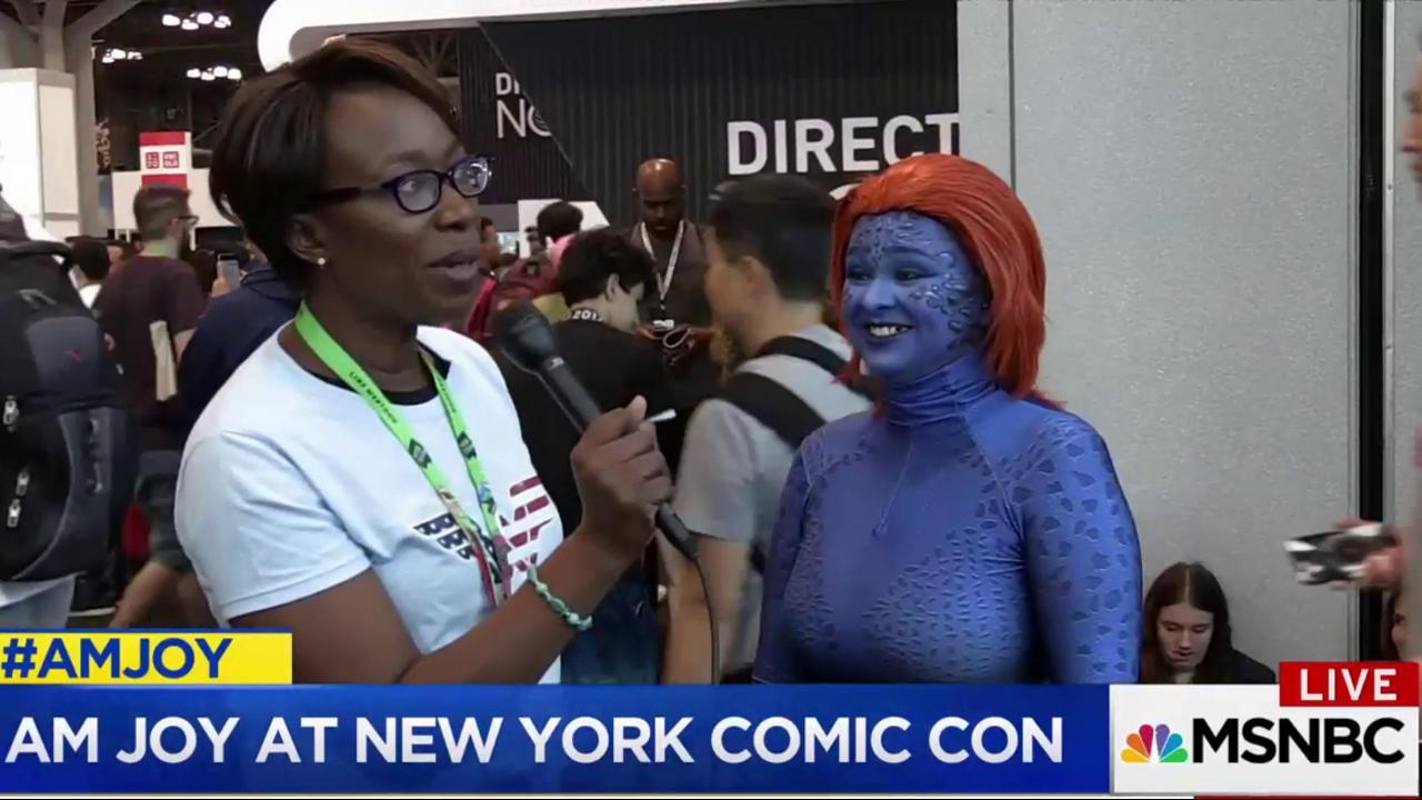 Joy Reid takes you to New York Comic Con...