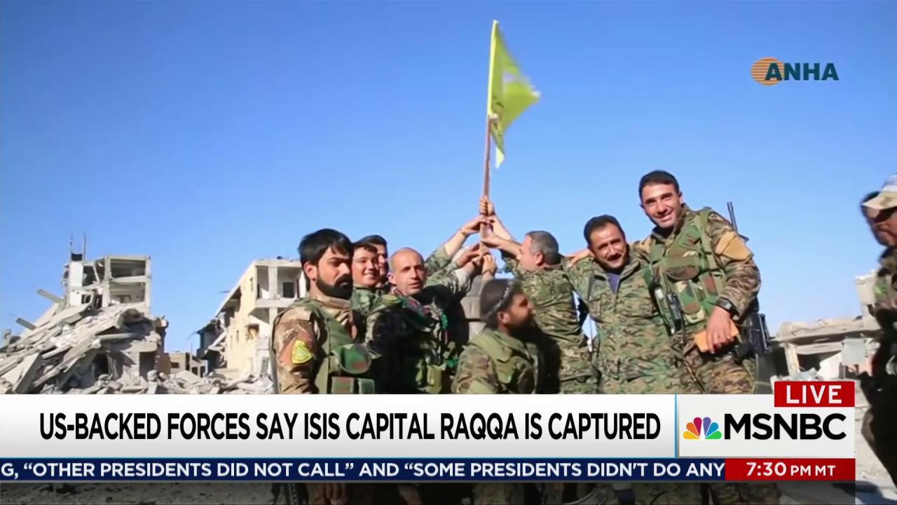 ISIS suffers major setback in Raqqa, Syria
