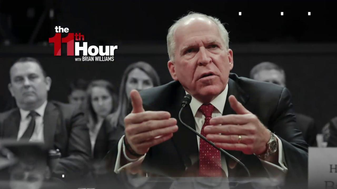 Fmr. CIA boss Brennan: World may wonder if...