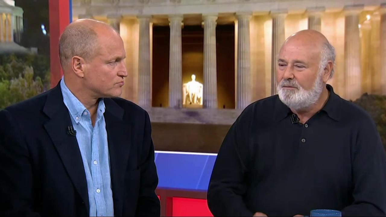 Woody Harrelson and Rob Reiner talk LBJ