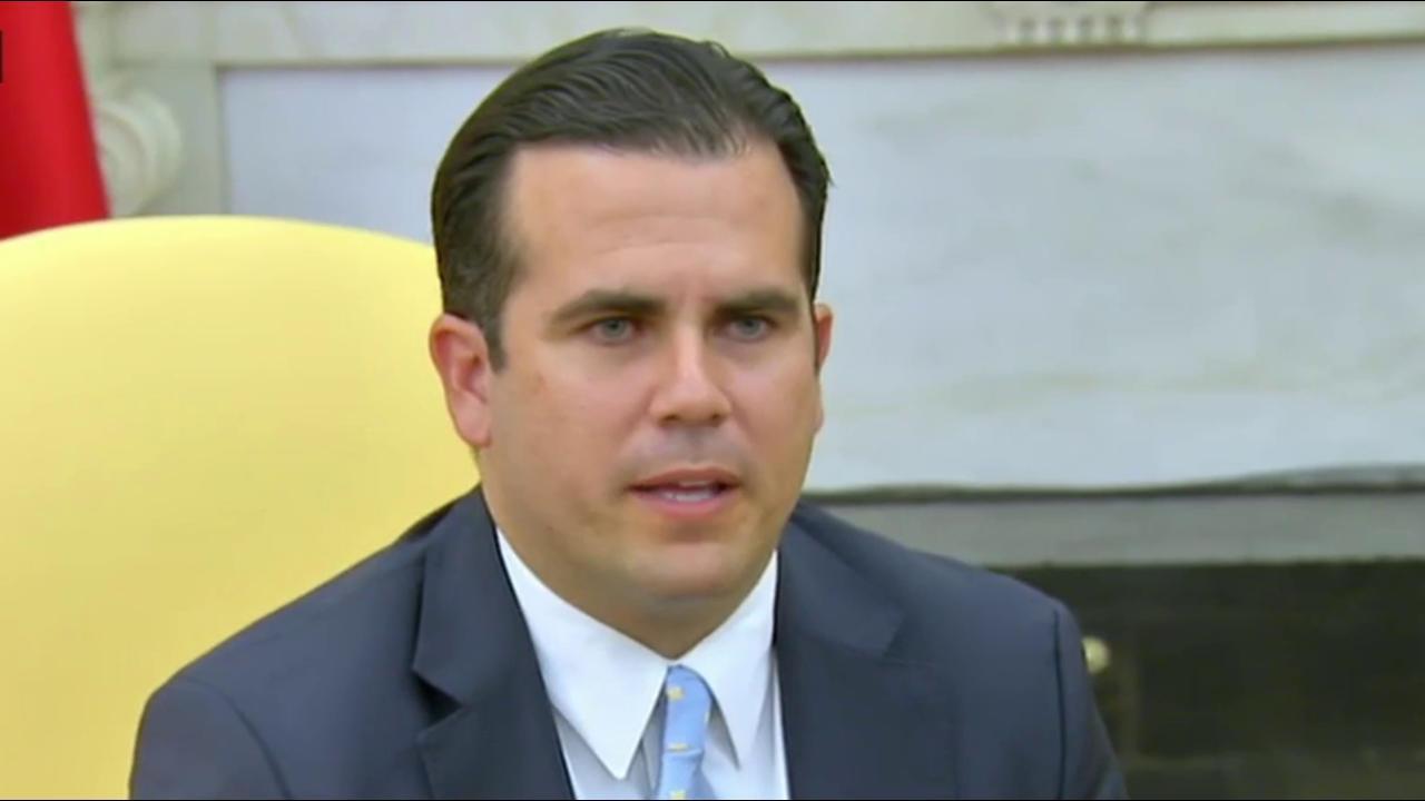 Puerto Rico governor: I answered Trump...