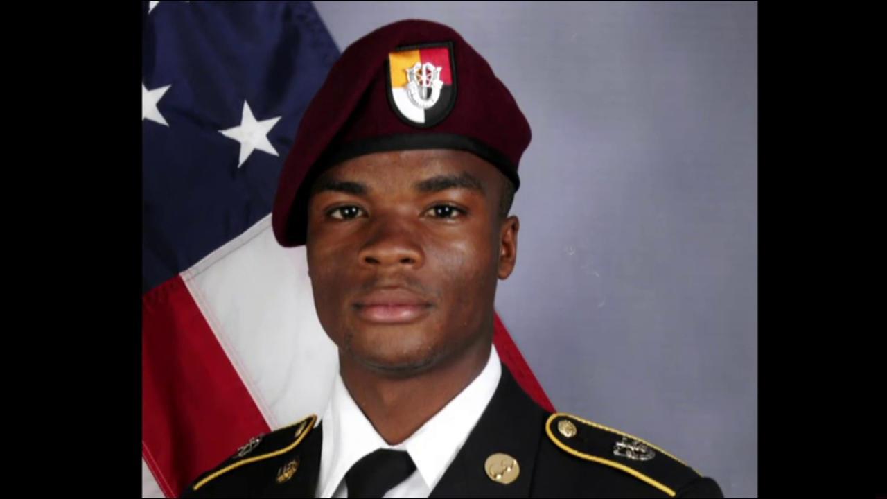 Sgt. La David Johnson served to give back...