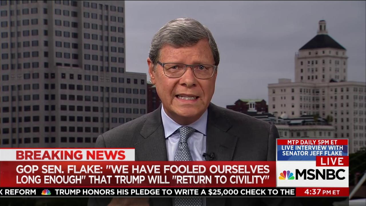"Charlie Sykes: ""It's a bad case of the..."