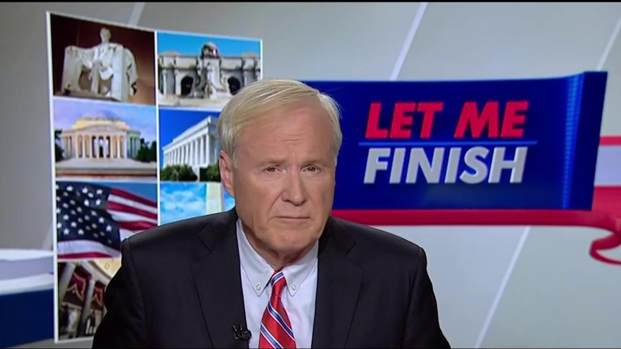 Matthews: We need a leader who can unite...