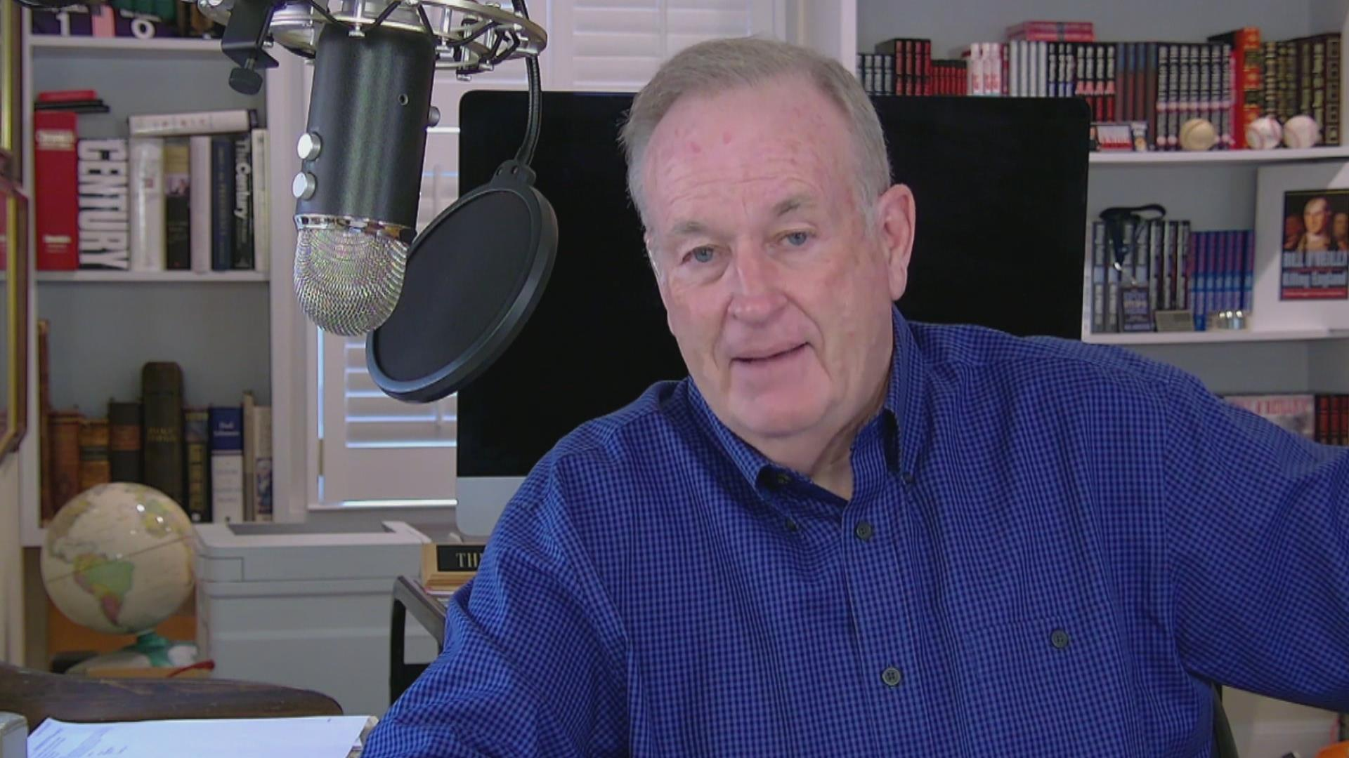 Time for O'Reilly to take some personal...