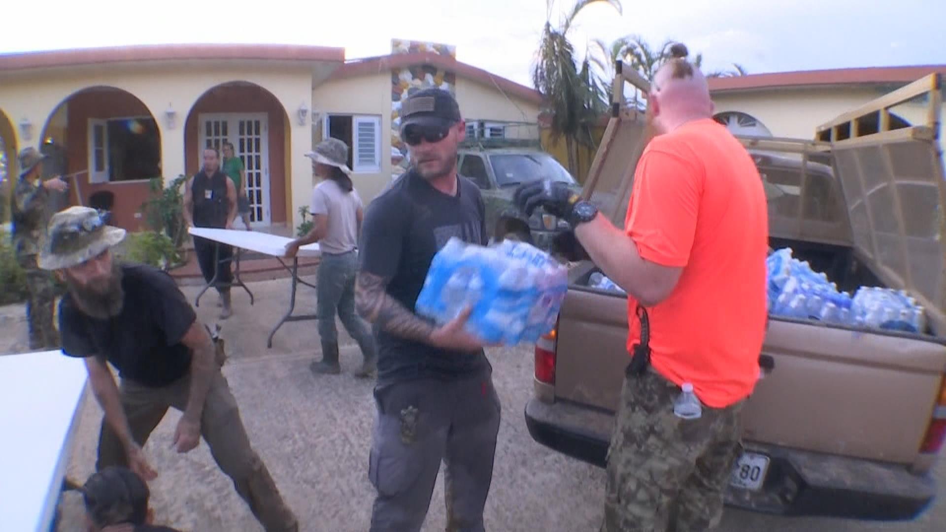 The veterans saving lives in Puerto Rico