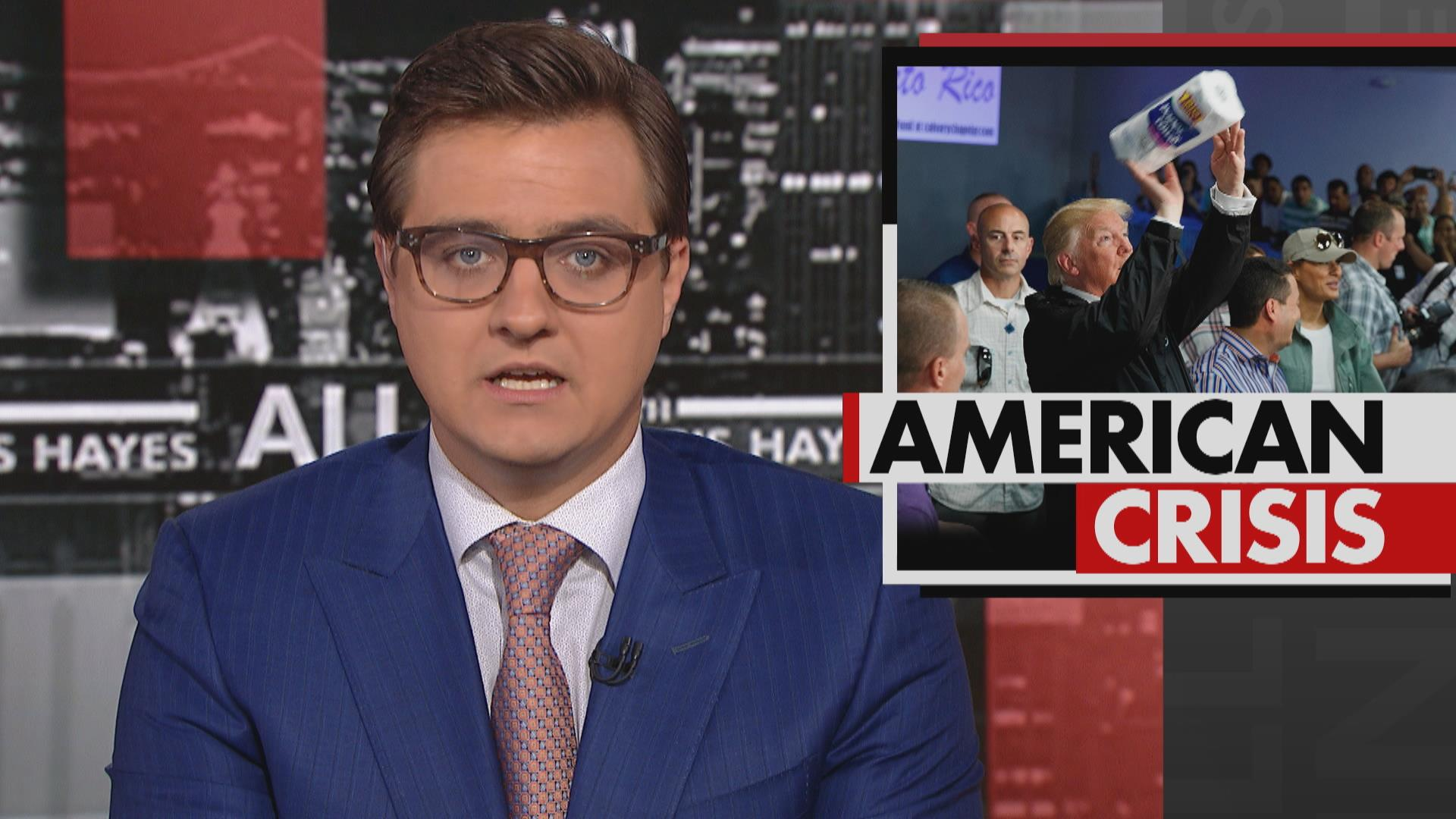 Chris Hayes: 'No A for effort' in Puerto...