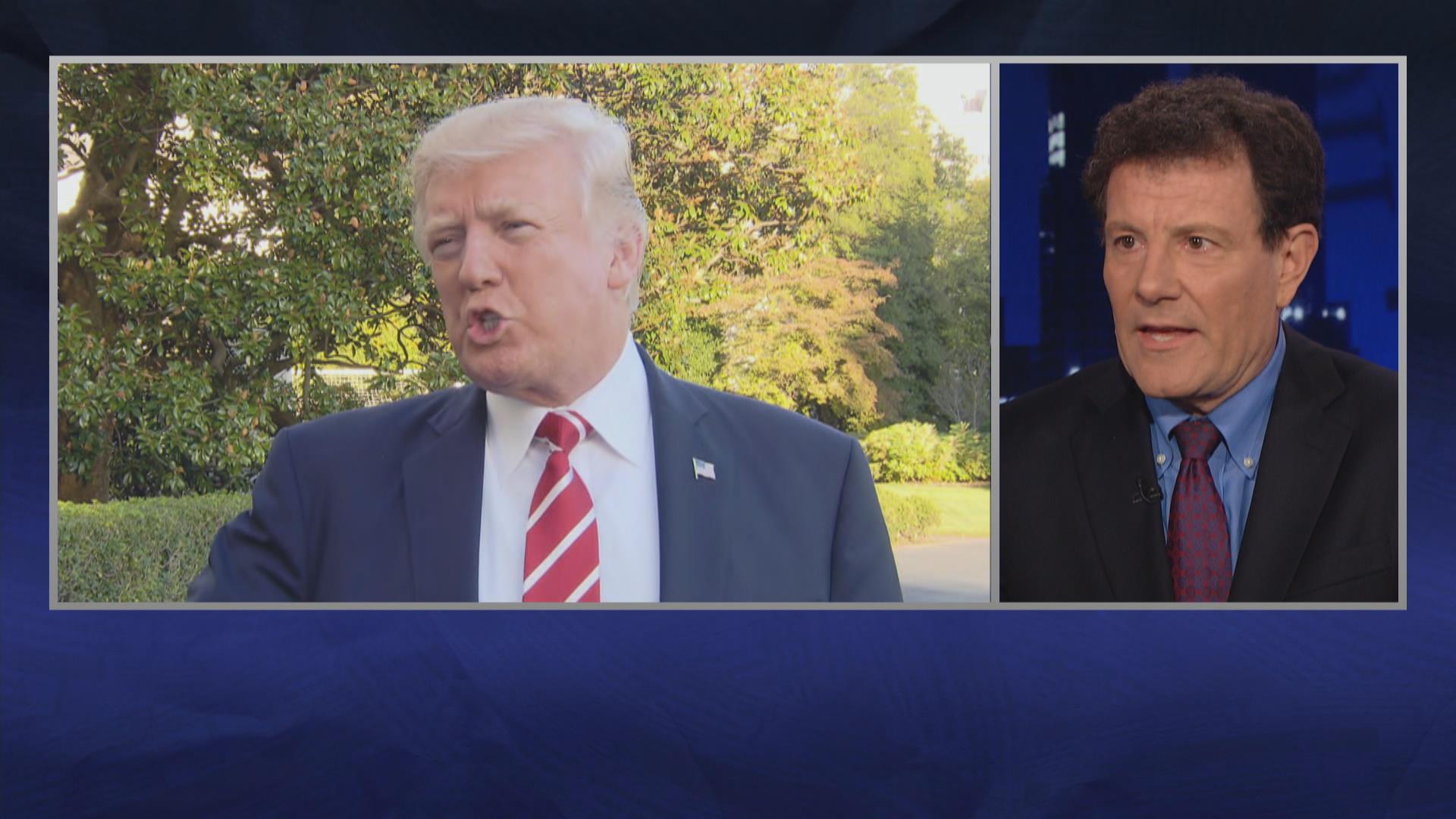 Kristof on Trump-Corker: 'This is...