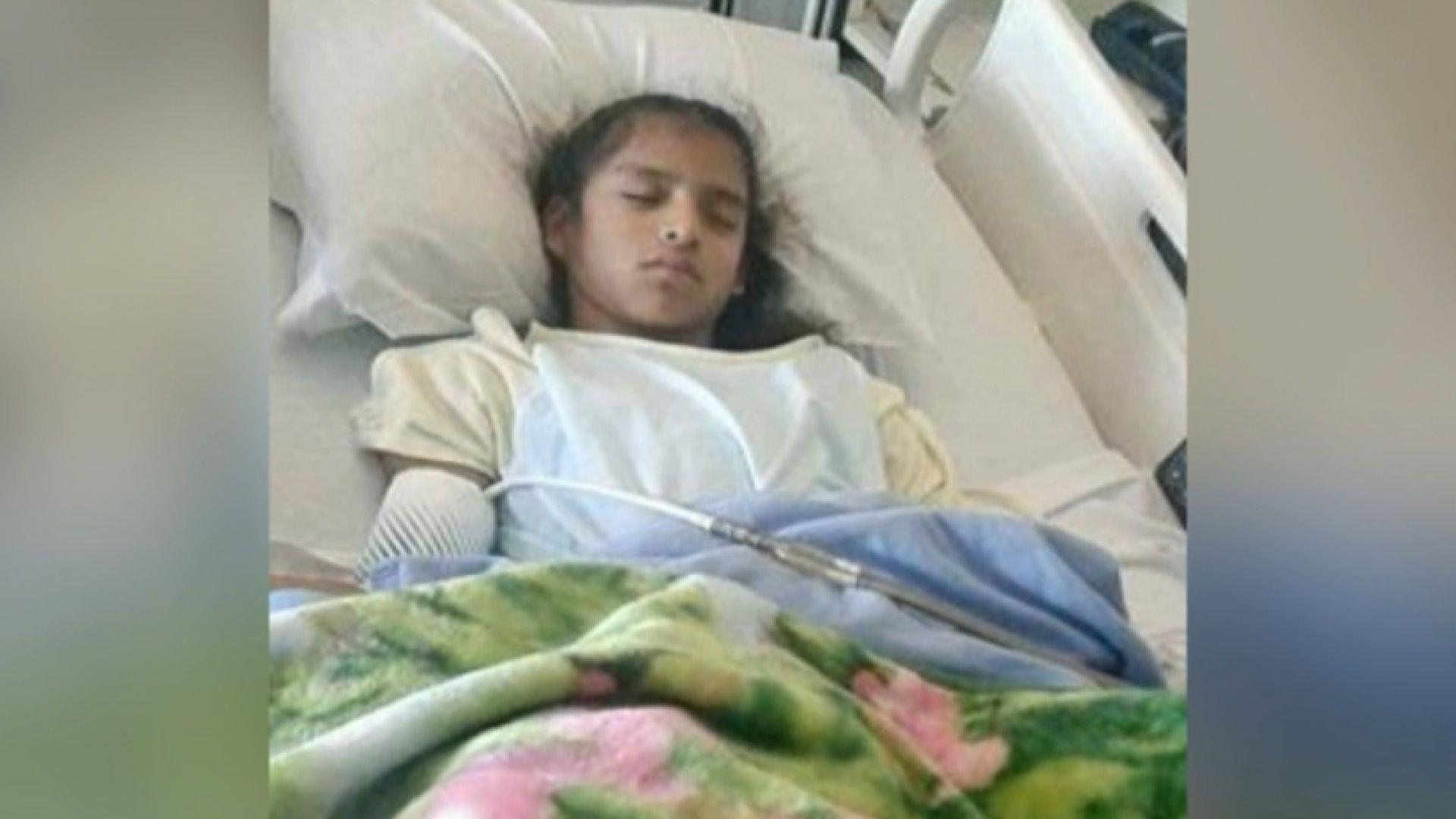 YearOld Mexican Girl With Cerebral Palsy Detained By Border - 1 in 10 babies cp map of us