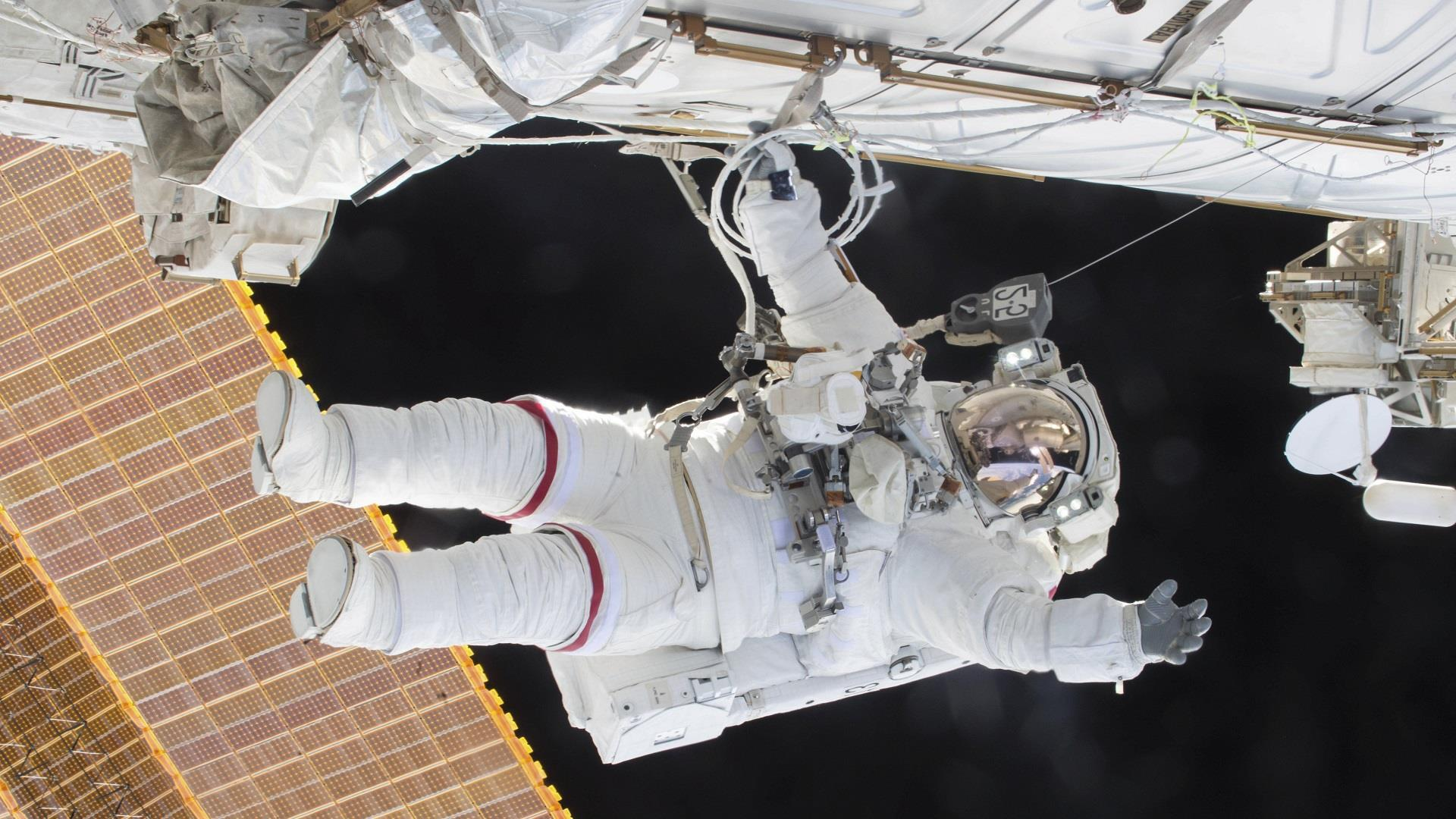 Astronaut Scott Kelly's stellar year in...