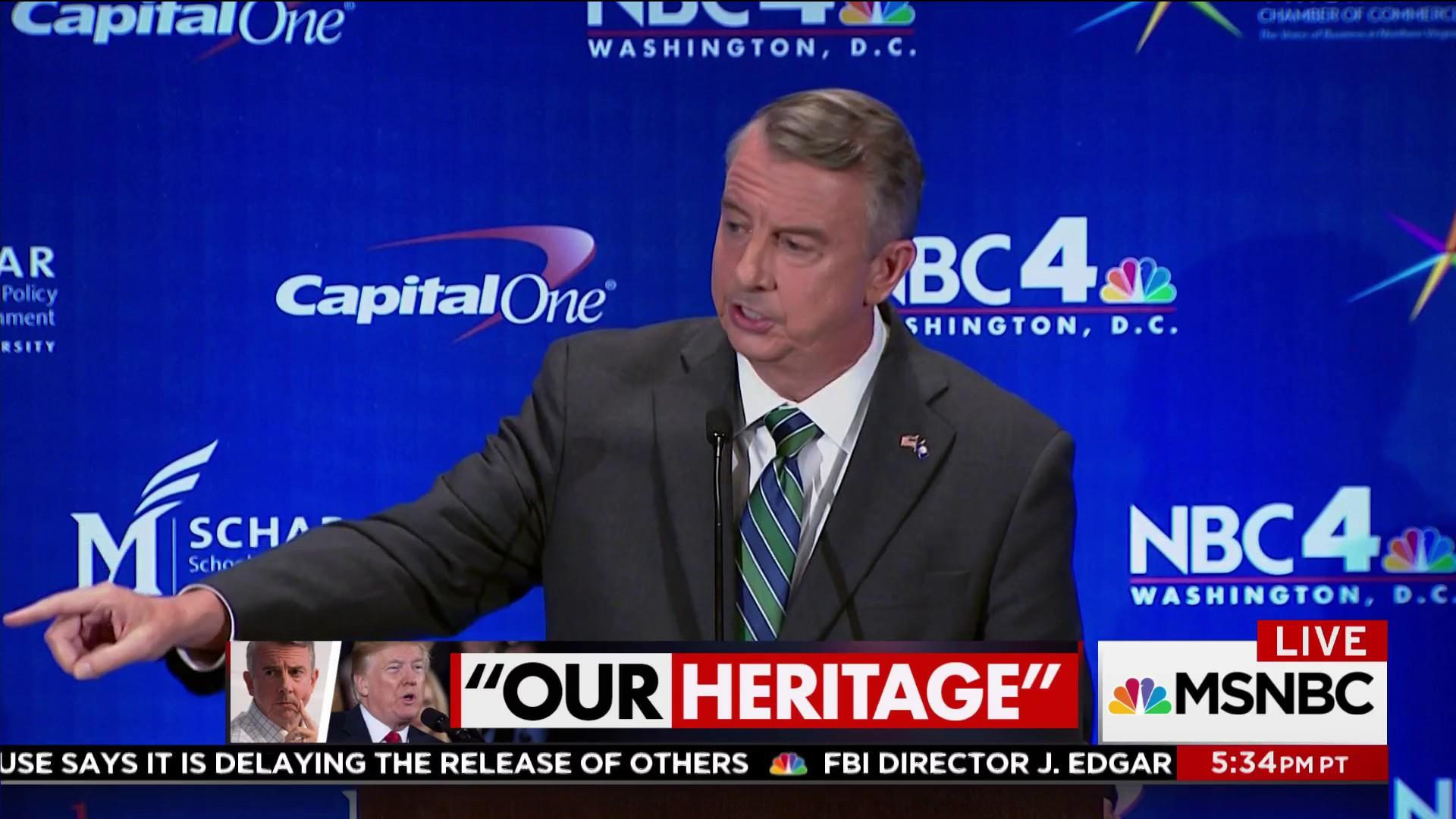 Virginia gubernatorial race could be...