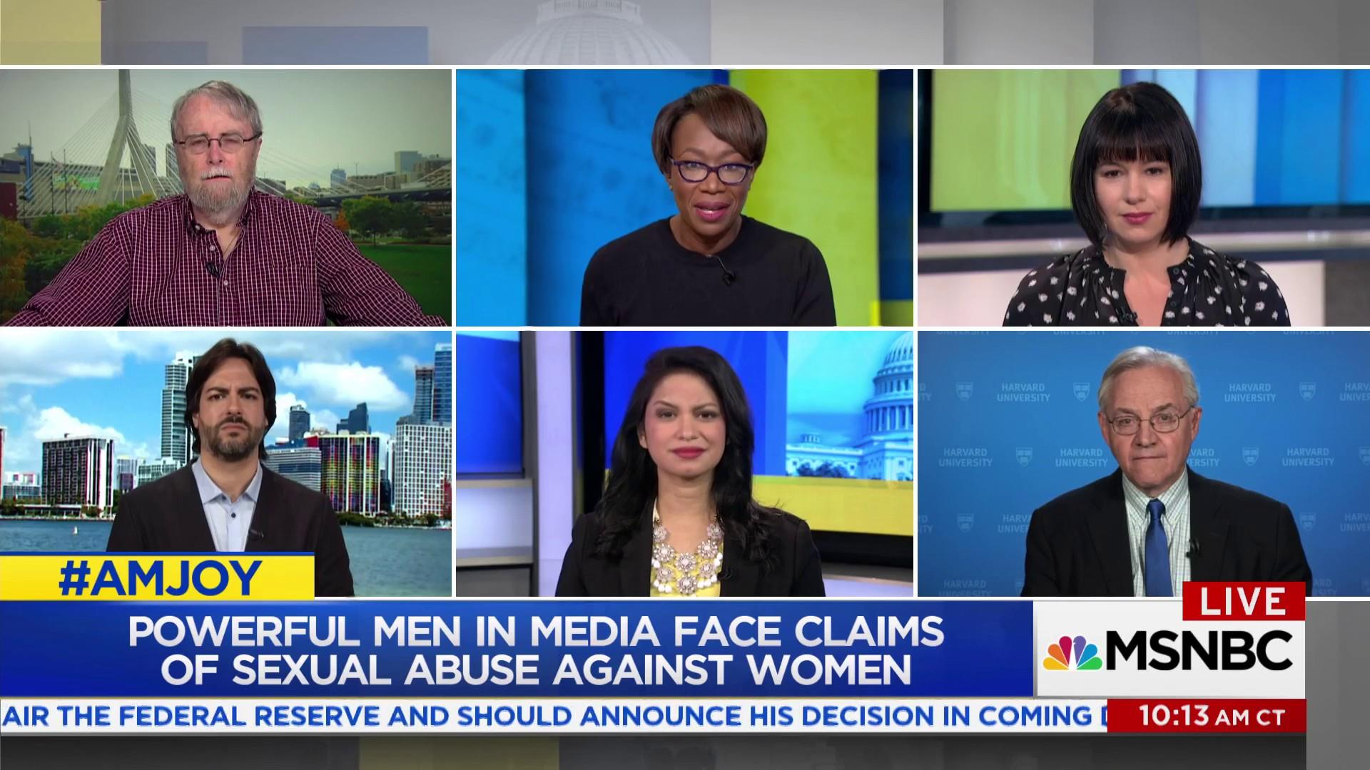 Powerful men in media face claims of...