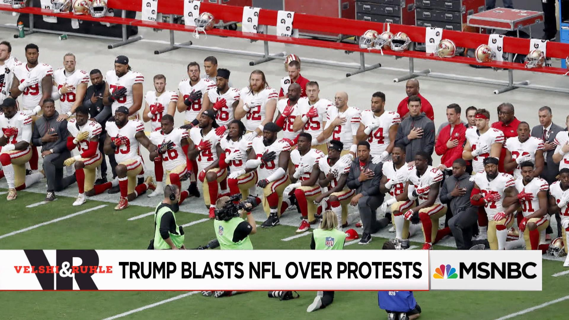 Trump Blasts NFL Over Protests