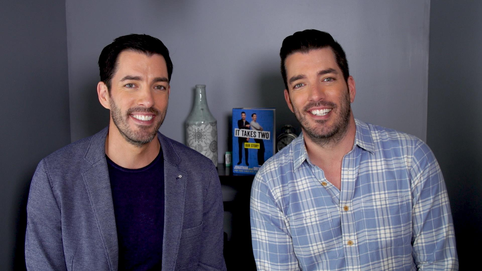 Jonathan And Drew Scott Aka The Property Brothers Dish On Best Worst Of Growing Up Twins