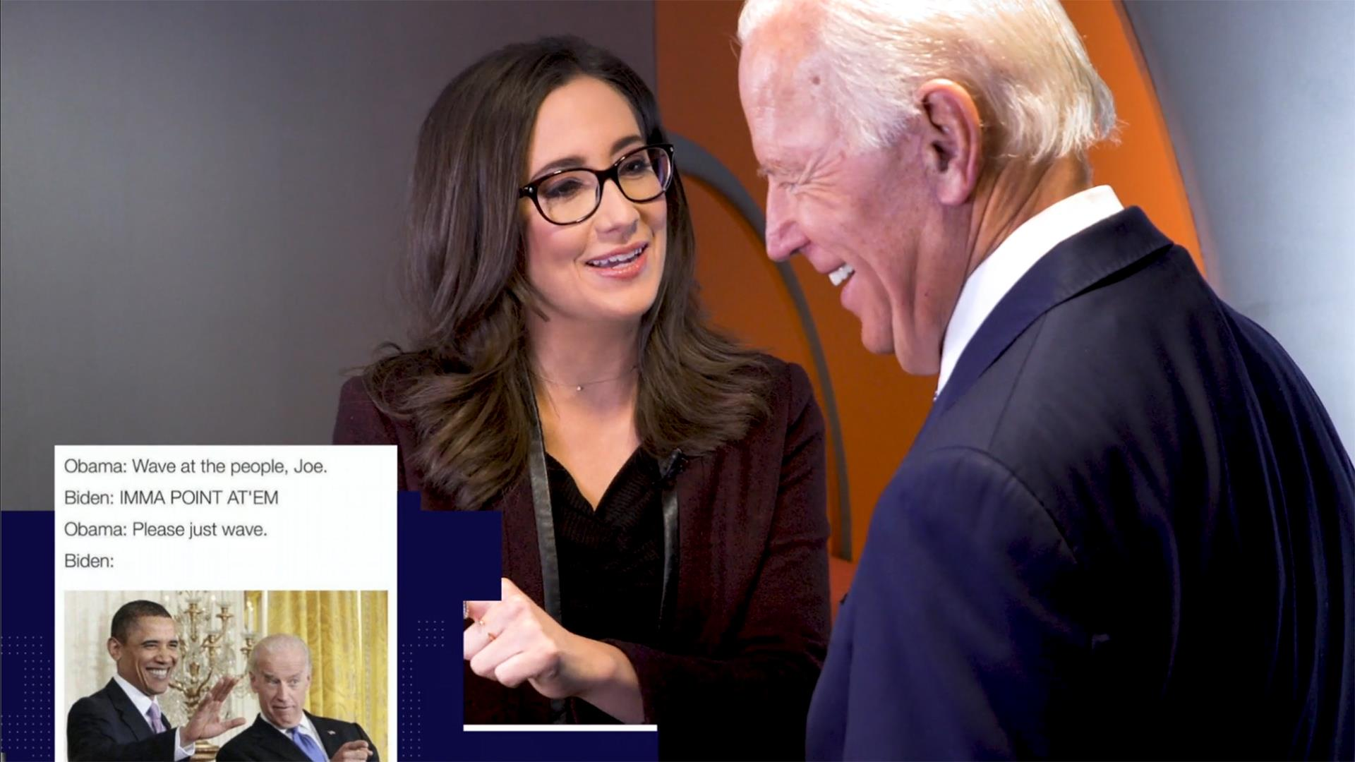 Biden Reveals His Favorite Memes And There Are Lots Of Good Ones